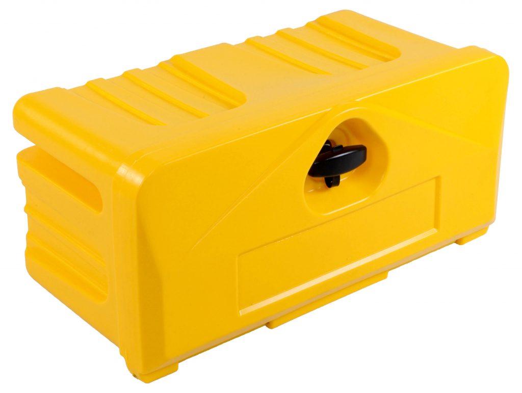 Skrzynia slick box 500-4 żólta - skrzynia narzędziowa kolorowa