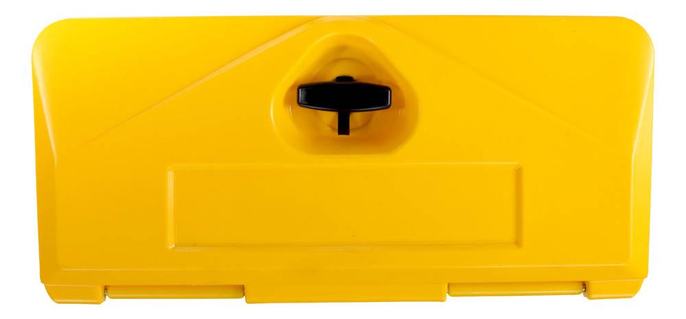 Skrzynia slick box 500-4 żólta - skrzynie narzędziowe kolorowe